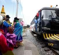 Duendes, diablos y naturaleza se mezclan en nuevo museo del tren en Ecuador. Foto: EFE
