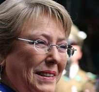 CHILE. Bachelet inició hoy sus actividades con una reunión en su casa con el presidente Sebastián Piñera, para coordinar desde ya el traspaso de poder en marzo próximo. Foto: Internet