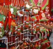 La Navidad y el Año Nuevo mueven la economía del país.