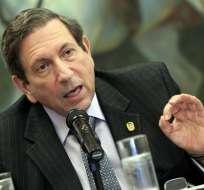 Fernando Núñez Fábrega, canciller de Panamá. Foto: EFE