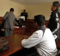 El cabo segundo de policía Fabián B fue acusado de intento de magnicidio. Foto: API