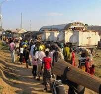 La crisis humanitaria en Sudán del Sur registra más de 1.000 muertos y más de 50.000 refugiados.