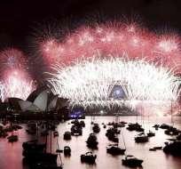 Samoa, Nueva Zelanda y Australia dan la bienvenida a 2014. Foto: EFE