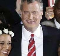 """ESTADOS UNIDOS, Nueva York. El alcalde recordó su propuesta de aumentar """"ligeramente"""" los impuestos a los más ricos. Foto: Internet"""