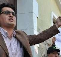 Jácome fue sentenciado a un año de prisión tras ser acusado de toma de la gobernación de Cotopaxi.