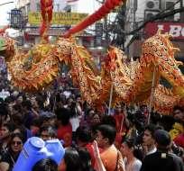 El año nuevo chino es la festividad tradicional más importante del calendario chino, celebrada también en otros países del este de Asia. Foto: EFE.