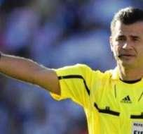 Carlos Vera, el árbitro ecuatoriano que estará en el Mundial (Foto: Internet)