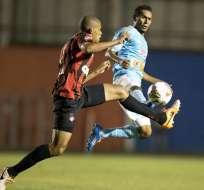 El Paranaense avanzó al grupo 1 de la Libertadores por la vía del penal. Foto: EFE