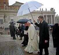 ROMA, Italia.- El encuentro propuesto por el sumo pontífice, que no ha sido confirmado oficialmente, llega en medio de un clima tenso en Argentina. Foto: EFE