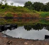 Foto de archivo.- La petrolera pidió una acción de protección para evitar cumplir el fallo de la Corte Constitucional.