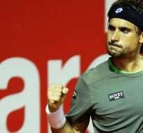 David Ferrer celebra su triunfo (Foto: ATP de Buenos Aires)