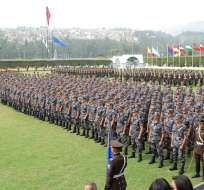 Los uniformados además vigilarán el cumplimiento de la ley seca que rige desde mañana al mediodía.