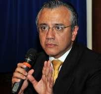QUITO, Ecuador.- Mera descartó que hoy se tome una decisión sobre los cambios en el Gabinete de Gobierno. Fotos: Presidencia