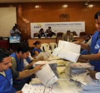 ECUADOR. Paúl Salazar reiteró que el sistema de escrutinio es objetivo y confiable para la ciudadanía. Foto: CNE