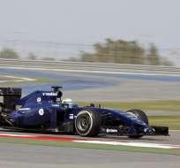 El brasileño Felipe Massa a bordo de su Williams. Foto: EFE