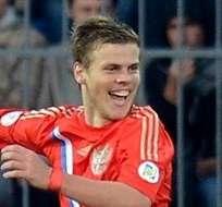 MOSCÚ, Rusia.- Kokorin anotó un gol en el triunfo de su selección.