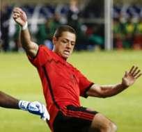 En México esperan noticias del Manchester sobre lesión de 'Chicharito'. Foto: EFE