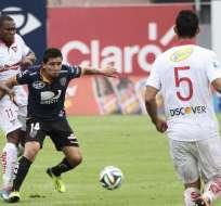 SANGOLQUÍ, Ecuador.- Independiente no pudo con los universitarios. Fotos: API.