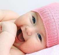 El 90 por ciento de los niños esbozan esta mueca de felicidad.