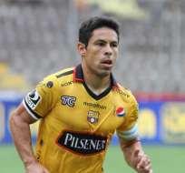 GUAYAQUIL, Ecuador.- Matías Oyola es el capitán de Barcelona. Foto: API.