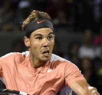 El tenista español Rafael Nadal, ya está en cuartos de final (Foto: EFE)