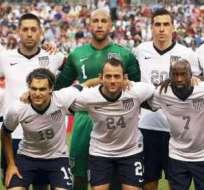 La selección de Estados Unidos, estará en el Mundial de Brasil 2014 (Foto: Internet)