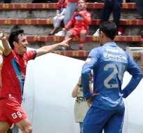 El Nacional venció por dos goles a cero a Emelec en la ciudad de Quito (Foto: API)