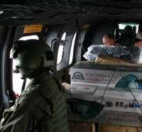 Bachelet extiende vigencia de estado de catástrofe en zona del terremoto. Foto: EFE