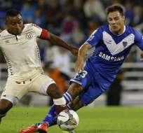 Vélez llega a octavos de Libertadores como el mejor en fase de grupos. Foto: EFE