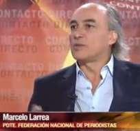 Marcelo Larrea: El crimen de Fausto Valdiviezo sigue en la impunidad.