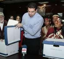El CNE iniciará la verificación de las firmas del Frente de Defensa Total de la Amazonía.