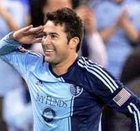 Claudio Bieler milita en el Kansas City de Estados Unidos.
