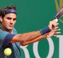 MONTECARLO.- El suizo Federer alcanzó su cuarta final tras los fallidos intentos en el 2006, 2007 y 2008. Fotos: EFE
