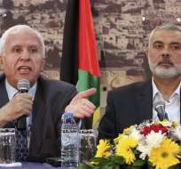 Hamas y Al Fatah ponen fecha a la eventual reconciliación palestina. Foto: EFE