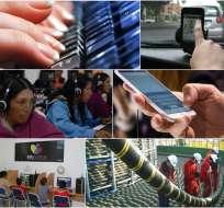 ECUADOR.- Acceso a Internet en los planteles educativos en una de las principales apuestas del Gobierno Nacional. Collage: Ecuavisa