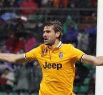 Juventus ganó ante el Sassuolo y ya acaricia el título en Italia. Foto: EFE