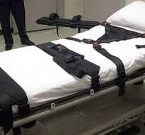 EE.UU.- El sentenciado a muerte falleció de un ataque al corazón, 40 minutos después de recibir la inyección letal. Foto: Internet