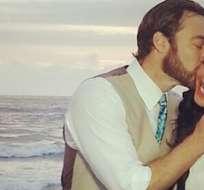 ECUADOR.- En una recepción privada, la presentadora de televisión celebró su matrimonio. Foto: Flacaguerrerog