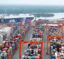 La ministra de Transporte, Paola Carvajal, señaló que aún no se ha resuelto nada sobre el puerto de Guayaquil.