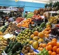 ECUADOR.- Según el INEC, la canasta familiar básica costó USD 633,61, frente al ingreso familiar de USD 634,67. Foto: Diario La Hora