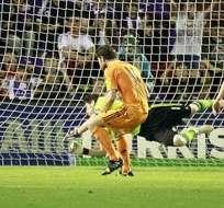 Valladolid empató al Real Madrid. Foto: EFE.