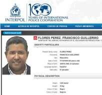Interpol incluye al expresidente Francisco Flores en lista de más buscados. Foto: EFE