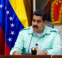 """Maduro reitera que no le teme las amenazas de las """"elites imperialistas"""". Foto: EFE"""