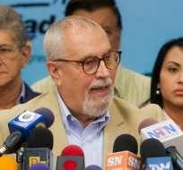 Oposición venezolana dice que el diálogo con el Gobierno está en crisis. Foto: EFE
