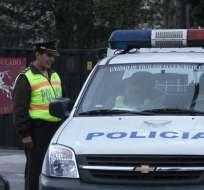 La policía busca a Cléver Jiménez, Fernando Villavicencio y Carlos Figueroa. Foto: API
