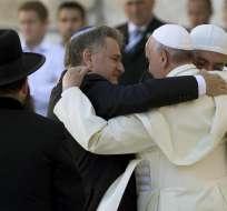 La visita del papa Francisco a Tierra Santa es un paso más hacia la reconciliación judeo-cristiana que comenzó con el Concilio Vaticano II. Foto: EFE.