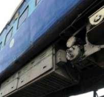 Foto de archivo.- Unas 40 personas podrían haber fallecido luego de que 6 vagones del tren se descarrilaron y otros cinco quedaron gravemente dañados.