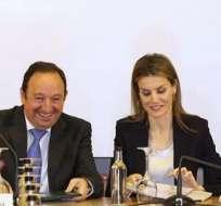 ESPAÑA.- Letizia, esposa de Felipe de Borbón, asistió a la inauguración del Seminario Internacional de Lengua y Periodismo. Fotos: EFE