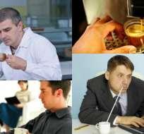 Según el estudio el 46% de los trabajadores asegura que es menos productivo cuando no bebe café.