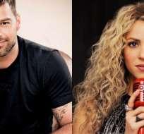 """""""No le diría que no a un dúo con Shakira, la admiro"""", comentó el boricua. Foto: Internet"""